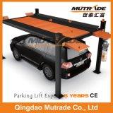 Подъем стоянкы автомобилей автомобиля обслуживания столба двойственной функции 4 Ce гидровлический