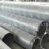 Tubulação perfurada da embalagem de aço inoxidável de Ss316L