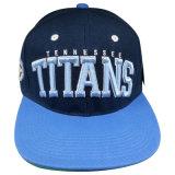 Изготовленный на заказ бейсбольная кепка Snapback с поднятым логосом Gjfp17167