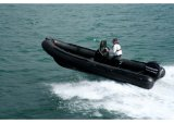 Aqualand 21feet 6.4m Rigid Inflatable Motor BoatかMilitary Rib Boat (RIB640T)
