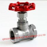 Válvula de globo de acero inoxidable roscada (GBTL-200)