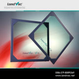 아키텍쳐 경계표 구조에서 이용되는 Landvac 진공 격리 유리