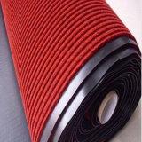 Esteira de porta com nervuras do PVC para o uso comercial (marcado, revestimento protetor de velour+PVC)