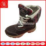 Ботинки способа снежка женщин на зима