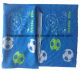 Bandanas tubulaires faits sur commande élastiques de polyester estampés par modèle personnalisés par produit d'OEM