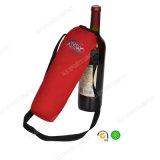 Großhandelsschulter-Riemen-Neopren-rote Flasche Koozie mit SGS-Bescheinigung