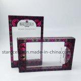 Пластичные коробки для косметик упаковывая с UV печатание