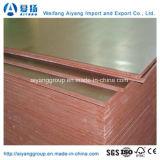 A película impermeável de Aiyang enfrentou a madeira compensada para a construção