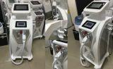 새로운 디자인 3 손잡이 양극 RF ND YAG Laser Elight (IPL RF) 머리 제거 기계