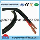 Cable plano australiano del cable 2.5m m del certificado del estándar SAA de la UL TUV