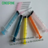 Colorful Plunger, Good Quality를 가진 Colored Syringe를 가진 처분할 수 있는 Syringe