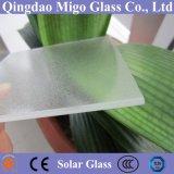 3.2mmの4mm低い鉄プリズムかマットの緩和された太陽光起電ガラス