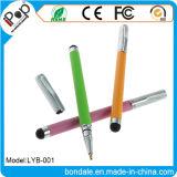 Couleur mate 2 de stylo bille dans 1 crayon lecteur d'aiguille avec le matériel de panneau de contact