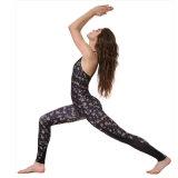 A ioga de nylon de Digitas da alta qualidade arfa a parte superior de tanque de Legging das mulheres