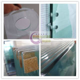 vidro do quarto de chuveiro de 10mm, vidro temperado