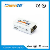 Bateria de lítio não recarregável de 9V Er9V para detector de fumaça