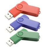 Mecanismo impulsor barato del flash del USB del eslabón giratorio para la promoción