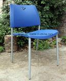 Стул стола школы, цветастая пластмасса штабелируя обедающ стул (LL-0029)
