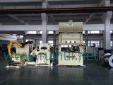 NCのサーボ送り装置を持つ自動機械車の部品を作るストレートナおよびUncoiler