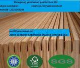 madera contrachapada del suelo del envase de 28m m 30m m Apitong para el envase seco