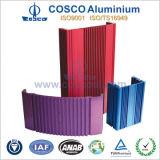 Aluminium-/Aluminiumstrangpresßling für das Auto-Verstärker-Gehäuse mit ISO9001 bescheinigt