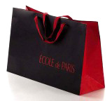 Rope HandleのクリスマスTheme Printed Paper Gift Bag
