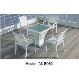 De Moderne Eettafel van de Tuin van het Terras van de Rotan van de Vrije tijd van het vakmanschap voor Openlucht