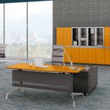 Escritorio de oficina ajustable de la nueva del diseño 2017 del grano altura de madera de bambú sólida con estilo del panel para los muebles de oficinas