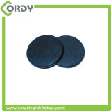 PPS redondo lavável NFC etiqueta botão industrial Etiqueta de lavanderia RFID