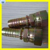 Femmina metrica un cono da 60 gradi che misura l'accoppiamento di tubo flessibile idraulico dell'installazione di tubo flessibile