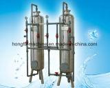 Filtro ativado do carbono para a água pura produzindo o processo