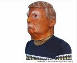 La máscara popular del partido de la cara de la mascarilla de la celebridad de la máscara de Víspera de Todos los Santos del item del látex de presidente Donald Trump