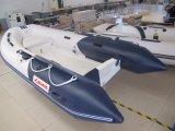 Kleines preiswertes aufblasbares Rippen-Boot, Rettungs-Bewegungsboot, Fischerboot Rib330 mit Cer-CERT