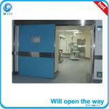 Porta automática do quarto do CT