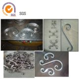 Equipo decorativo inoxidable del acero inoxidable del hierro de /Wrought de la dobladora del tubo de acero