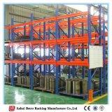 Cremagliera del metallo del magazzino di alta qualità della Cina con il piatto