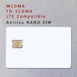 Tarjeta nana de la prueba de la tarjeta 3G 4G del teléfono SIM de WCDMA TD-SCDMA Lte para Anritsu