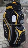 Kundenspezifischer lederner Golfcaddie-Beutel u. Golf-Karren-Beutel