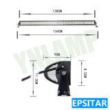 지프를 위한 도로 LED 표시등 막대 떨어져 288W 50.35inch IP67