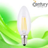 130lm/W CRI>80 4W Filament LED Candle