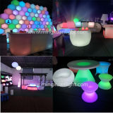 Bar를 위한 재충전용 Color Changing LED Furniture