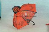 まっすぐにの青い杖の傘