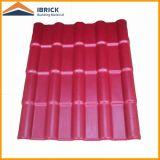 Tuile de toiture de PVC de 2 couches/3 couches, tuile de toit en plastique de PVC, tuile de toit en plastique