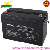 bateria acidificada ao chumbo selada 12V100ah da potência solar do AGM para o sistema do UPS