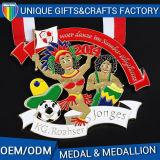 Medaglione dell'oro del metallo per le grandi medaglie del regalo promozionale
