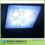 Vidro Tempered de vidro da iluminação para a iluminação Home do teto com forma especial