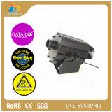 Lampada poco costosa del proiettore del Gobo di marchio di immagini 80W LED di prezzi 4 della Cina
