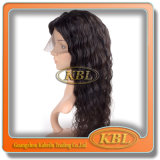Indian Remy Grey Half Lace Wigs for Black Women