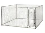 Jaula al aire libre soldada galvanizada del perro del acoplamiento de alambre