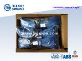 Corda blu dell'argano di UHMWPE Sk75